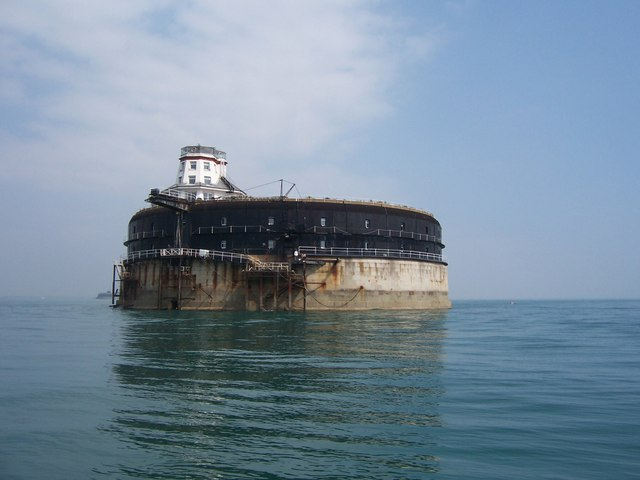 No Man's Land Fort (solent fort) is sea fort which purpose to give protection to Portsmouth & its harbor from French sea attack & bombardment.