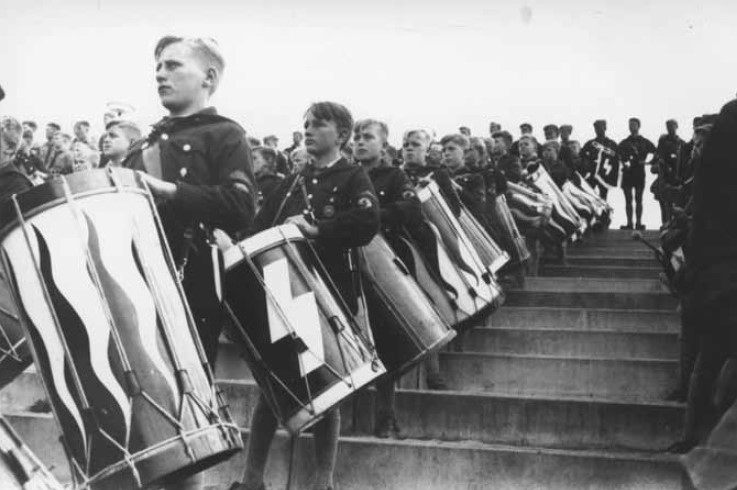 The Hitler Youth.